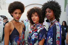 Leonard Paris - CosmopolitanUK  Natural curls