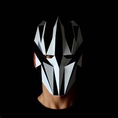 CLUB KID Mask Geometric full face mask you can make with