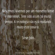 Frases Negócios Sucesso Steve Jobs, Marketing Digital, Entrepreneurship, Social Networks, Frases, Tecnologia