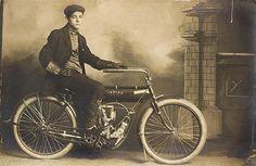 Stylish Indian motorcycle...