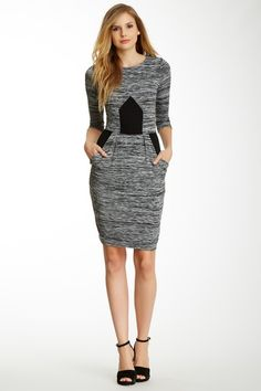 Space-Dye Contrast Dress by French Connection on @HauteLook