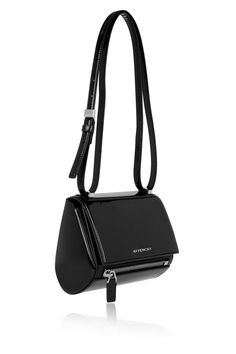 Givenchy | Mini Pandora Box bag in black patent-leather | NET-A-PORTER.COM