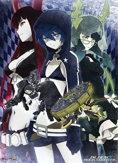 Black Rock Shooter  Black Gold Saw Death Master  Strenght Chariot