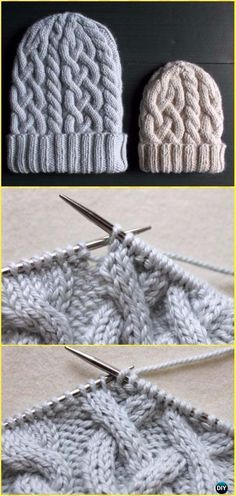 7c8e69ea8da Knit Traveling Cable Hat Free Pattern - Knit Beanie Hat Free Patterns