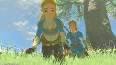 I just ADORE how Link joins her and is actually interested in what she has to say<3