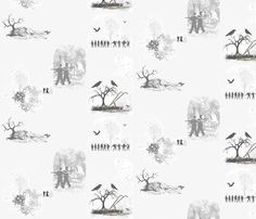 Future_Past fabric by wittythings on Spoonflower - custom fabric