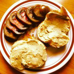 #veggie #snack #babaghanoush #kumato #eggplant #tomato