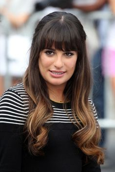 Lea Michele Ombre hair
