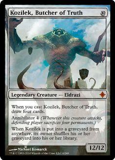 Kozilek, Butcher of Truth