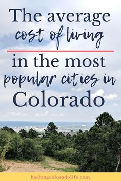 We take a look at the average cost of living in the most popular cities in Colorado along the Front Living In Denver Colorado, Living In Colorado Springs, Visit Colorado, Colorado Homes, Boulder Colorado, Moving To Denver, Moving To Colorado, Visit Denver, Fort Collins Colorado