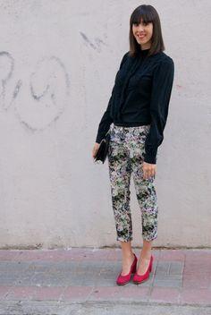 Flowers Pants