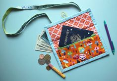 Happy Travels Wallet « by the Green Bag Lady for Sew,Mama,Sew!