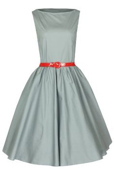 Lindy Bop Classy Vintage Audrey Hepburn Style 1950's Rockabilly Swing Evening Dress