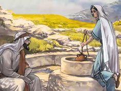 Free visuals:  The Samaritan woman  Jesus talks with a Samaritan woman about 'Living water'. John 4:1-42