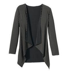Walkabout Knit Reversible Drape-Front Jacket - TravelSmith