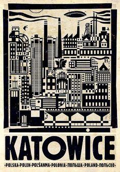 Katowice, Polish Promotion Poster