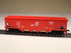 HO Scale Model Railroad Trains Layout Vintage Tyco 4 Bay Hopper Car 3448 250 New | eBay