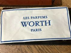 VINTAGE JE REVIENS WORTH SOAPS BOX OF 3 - UNOPENED - RARE #Ad , #Paid, #REVIENS#WORTH#VINTAGE