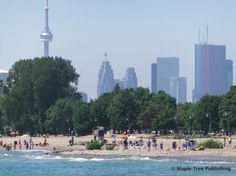 One of Toronto's beautiful beach fronts with Kew Gardens being once of the centre attractions