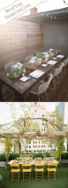 How perfect would this be for a rooftop party at The Woods: http://gramercy.ca/thewoods/