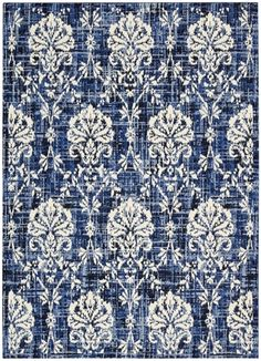 Barclay Butera Kaleidoscope Chambray Area Rug by Nourison - x (Blue/White - x (Wool, Abstract) - Area Rugs Chambray, Nourison Rugs, Clearance Rugs, Living Room Seating, Living Rooms, Home Upgrades, Accent Rugs, Online Home Decor Stores, Floor Rugs