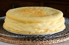 JULES FOOD...: Japanese Cheesecake with Ginger White Chocolate Ganache...I am in LOVE with Japanese Cheesecake. Asian Desserts, Asian Recipes, Japanese Cheesecake, White Chocolate Ganache, Cheesecakes, Vanilla Cake, Sweets, Parmesan, Food