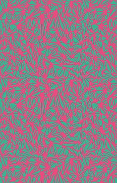 Abstract Pattern - Green & Pink by Georgiana Paraschiv, via Flickr