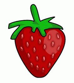 Dibujos de fresas para imprimir-Imagenes y dibujos para imprimir