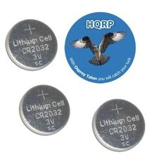 HQRP 3 Pack Lithium Coin Battery compatible with Polar FT1 FT2 F6 Heart Rate Monitor plus Coaster *** Read more at the image link.
