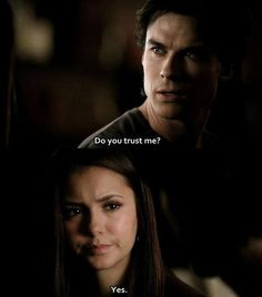 #TVD The Vampire Diaries  Damon & Elena