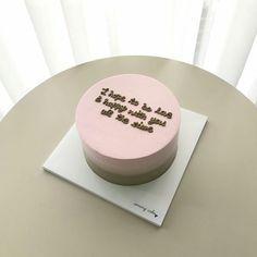 Pinterest: @lavindale97 Pretty Birthday Cakes, Pretty Cakes, Cake Cookies, Cupcake Cakes, Cake Wallpaper, Korean Cake, Kawaii Cooking, Just Cakes, Piece Of Cakes