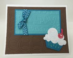** Cupcake Birthday Card @ThePaperMenagerie