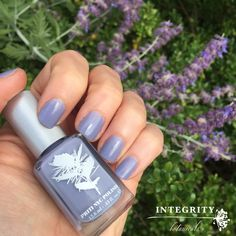 Priti NYC Day Flower #8free #nailpolish #glutenfree #crueltyfree #nontoxic #nailpolish #bluenails #purplenails