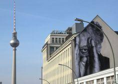 Streetart JR in Berlin – Wrinkles of the City 5