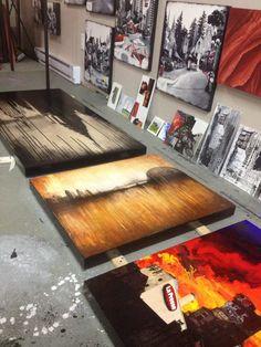 New #art ready for varnish