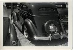 1936 Ford Sedan, Back
