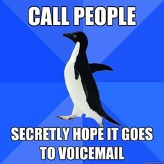 Socially akward Penguin voicemail | Socially Awkward Penguin ridiculous pic