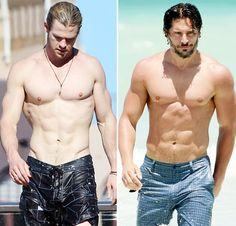 Chris Hemsworth, Joe Manganiello