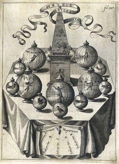 Works of Athanasius Kircher   Chetham's Library Alchemy Art, Esoteric Art, Occult Art, Albrecht Durer, Sacred Geometry, Illustration, Astrology, Hermes, Drawings