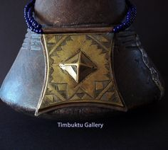 OLD  Tscherot AMULET ,  Bronze Tuareg tribe talisman necklace. African Ethnic jewelry. Nomads, Bedouin gypsy Tribal, Touareg jewelry by Timbuktugallery on Etsy