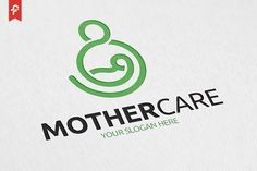 Mother Care Logo by ft.studio on Graphics Author, Author Care ftstudio Graphics logo Mother 812055376546365159 Baby Tumblr, Mother Care, Medical Logo, App Logo, Baby Blog, Health Logo, Kids Logo, Baby Art, Logo Design Inspiration