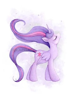 Princess Twilight My Little Pony Art MLP