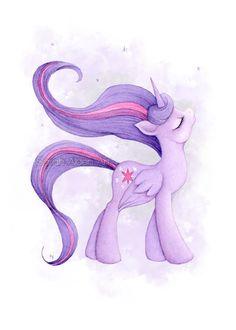 Princess Twilight My Little Pony Art MLP