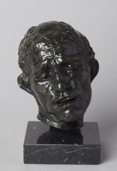 #Head of Pierre de #Wissant, 149 € / © Musée #Rodin, photographer :   Florian Claudel / http://boutique.musee-rodin.fr/en/sculpture-reproductions/75-head-of-pierre-de-wissant-3533231000169.html