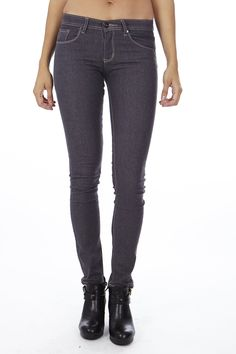Classic Gray Skinny Jeans