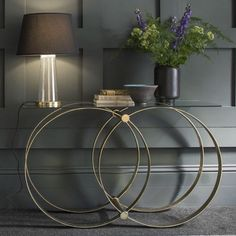Console tables are the master pieces in a wall decoration, you must have one definitely! See our selection and get inspired with this luxury furniture piece. See more here www.covethouse.eu