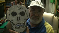handmade metal skull give it a try ( Part 1 the easy bit )