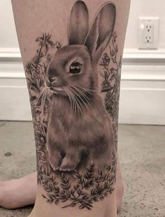Rabbit tattoo inspiration
