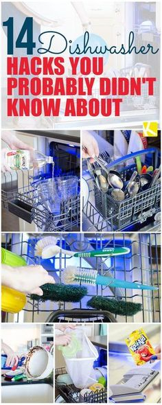 14 Unexpected Dishwasher Hacks to Clean Everything