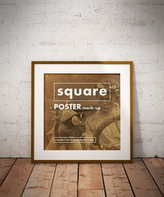 Free Square Poster Mockup Few days ago, we were asked to go back for one of our old poster mockup and make it in another version – square. We are...